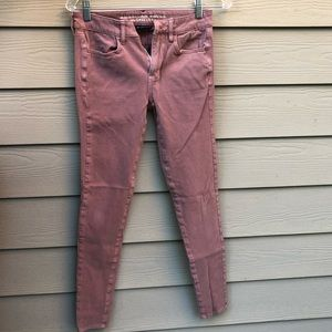 Dusty Pink American Eagle Jeans